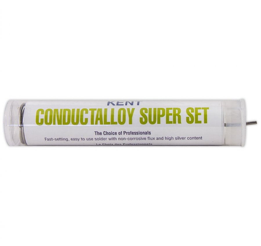 Solda de estanho (Conductalloy Super Set)